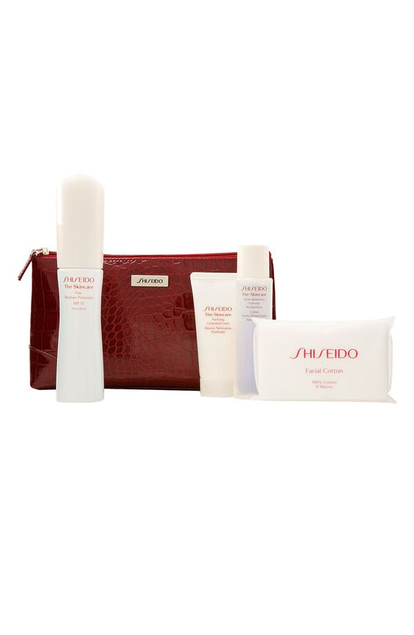 Main Image - Shiseido 'The Skincare - Ideal Moisture' Set ($71 Value)