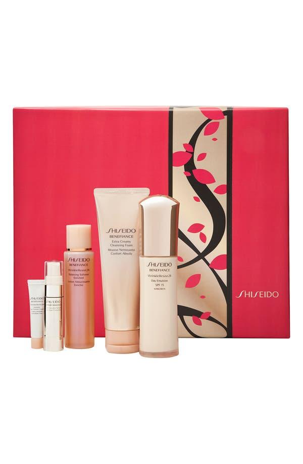 Main Image - Shiseido 'Benefiance Total WrinkleResist24' Set ($151 Value)