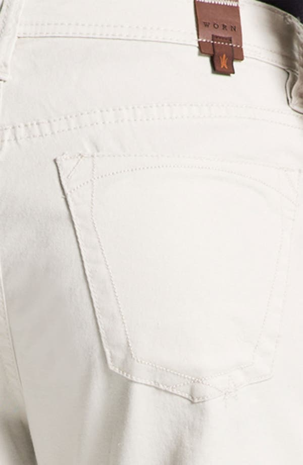 Alternate Image 3  - Worn Jeans 'Octane' Straight Leg Pants