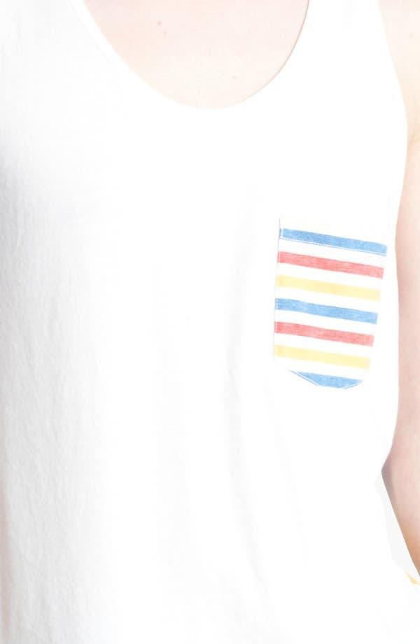 Alternate Image 3  - Topman 'Olly' Stripe Tank Top