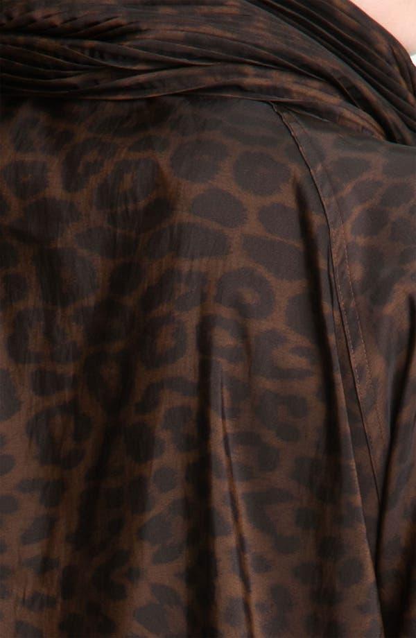Alternate Image 3  - Mycra Pac Designer Wear 'Donatella' Scrunch Neck Travel Coat (Regular & Plus)
