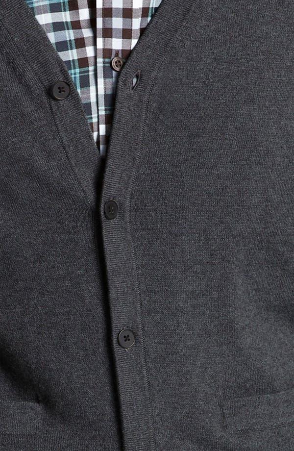 Alternate Image 3  - Nordstrom Cotton & Cashmere Cardigan