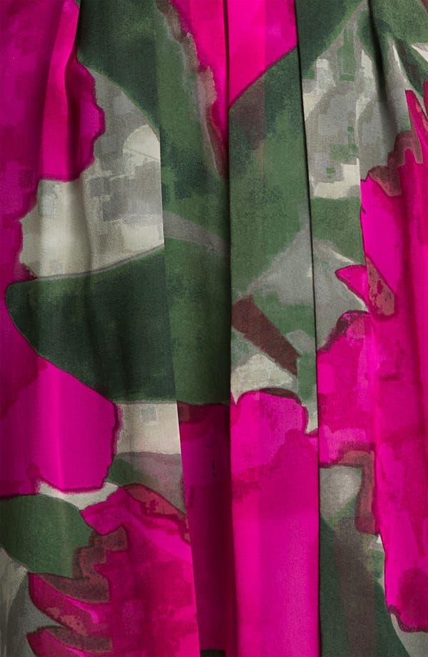 Alternate Image 3  - Trina Turk 'Winston' Printed Silk Fit & Flare Dress