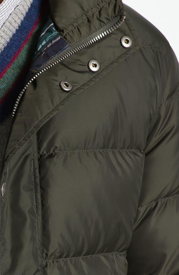 Alternate Image 3  - Brooks Brothers 'University' Down Puffer Jacket