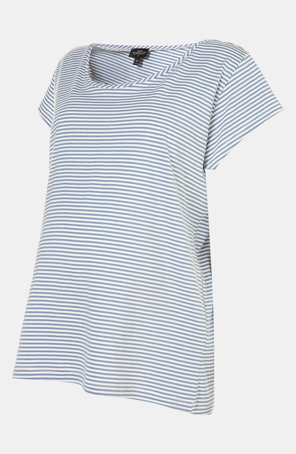 Alternate Image 2  - Topshop Stripe Maternity Pajama Tee