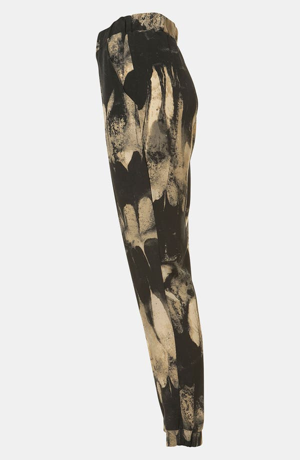 Alternate Image 4  - Topshop Print Tapered Pants