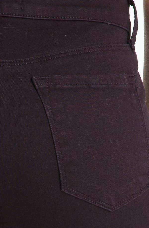 Alternate Image 3  - J Brand Overdyed Super Skinny Jeans