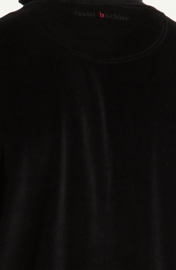 Alternate Image 3  - Daniel Buchler 'Deluxe' Yarn-Dyed Velour Track Jacket