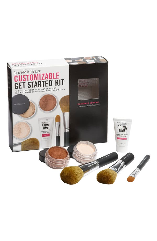 Alternate Image 1 Selected - bareMinerals® Customizable 'Get Started®' Kit ($116 Value)