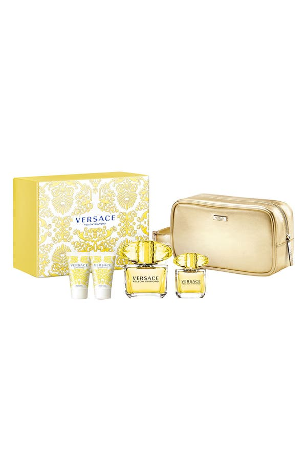 Main Image - Versace 'Yellow Diamond' Deluxe Set