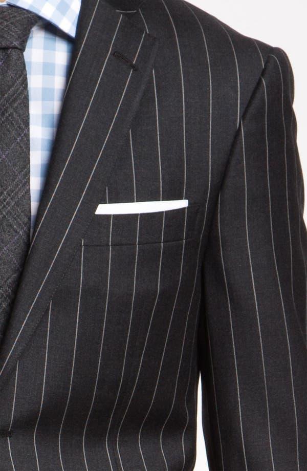 Alternate Image 6  - Hart Schaffner Marx Stripe Wool Suit