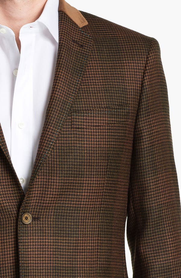 Alternate Image 3  - Ted Baker London 'Global' Trim Fit Check Sportcoat