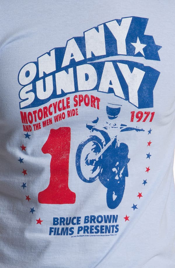 Alternate Image 3  - Topless 'On Any Sunday' T-Shirt