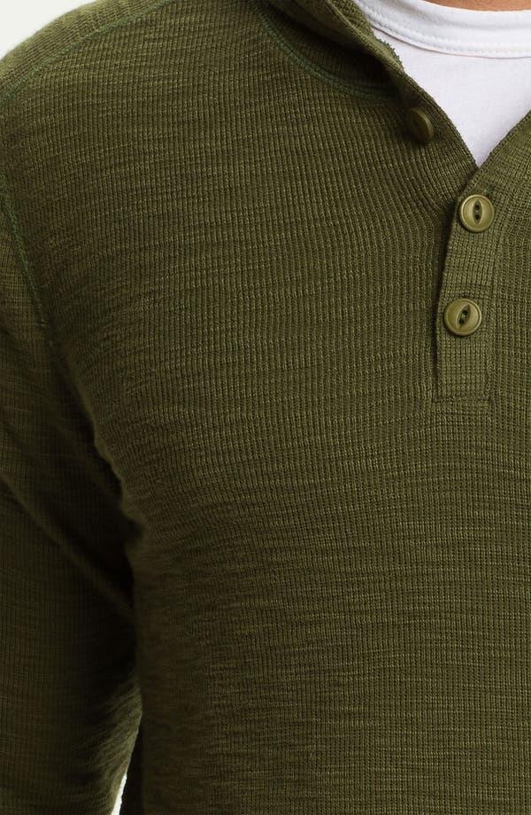 Alternate Image 3  - Vince Hooded Henley Thermal Shirt