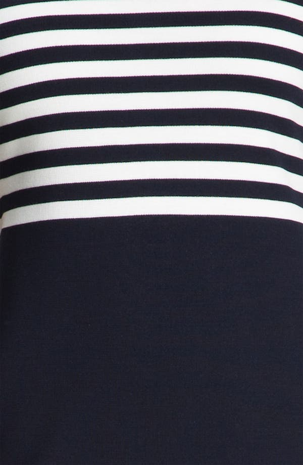 Alternate Image 3  - St. John Collection Stripe Milano Knit Dress