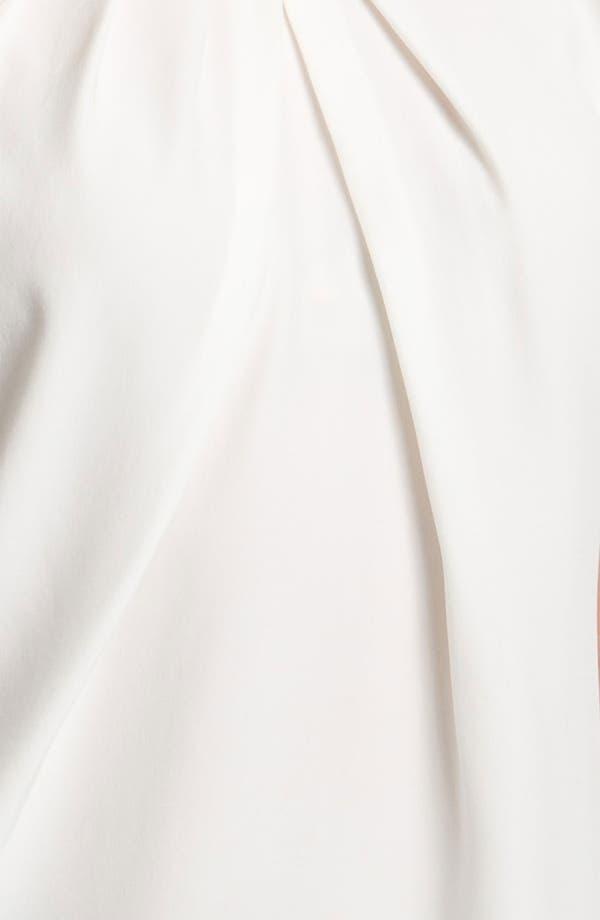 Alternate Image 3  - Lafayette 148 New York 'Posey' Silk Blouse (Petite)