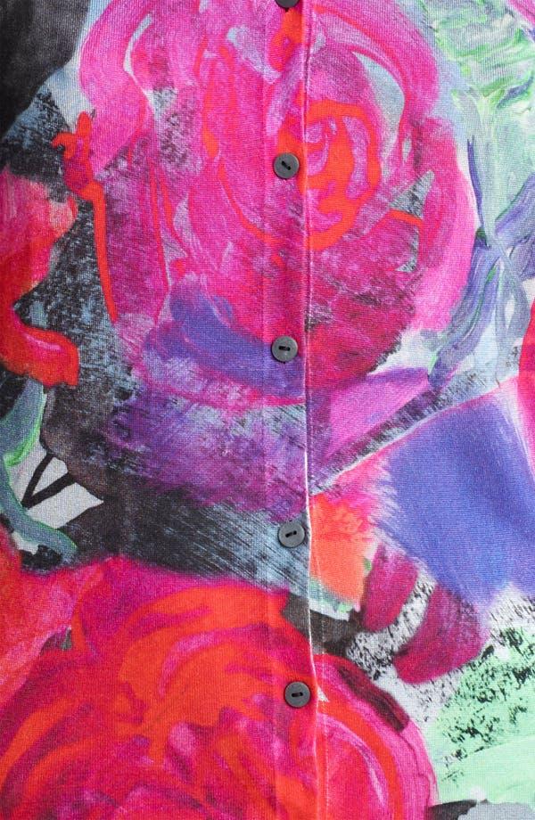 Alternate Image 3  - Christopher Kane Floral Print Silk Cardigan