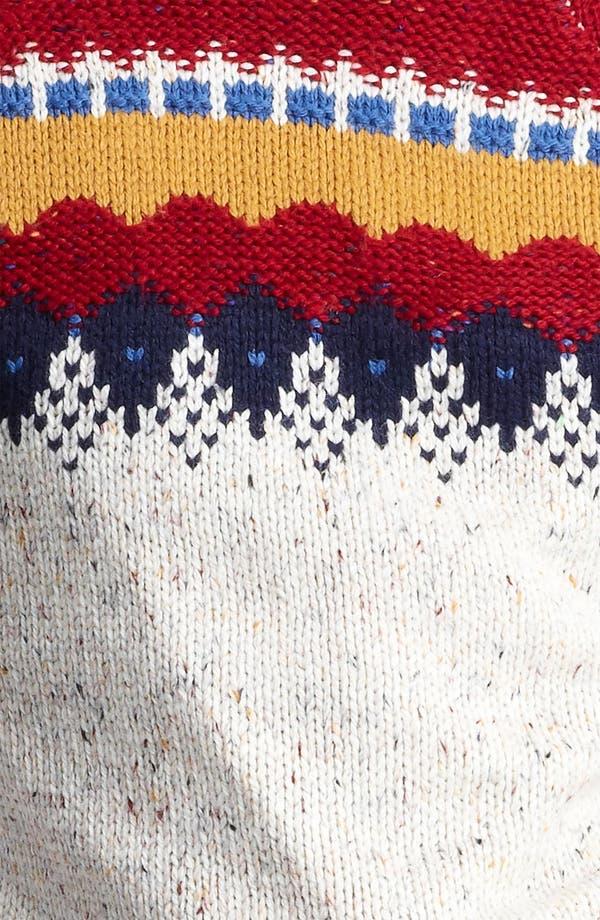 Alternate Image 3  - Topman Yoke Pattern Crewneck Sweater