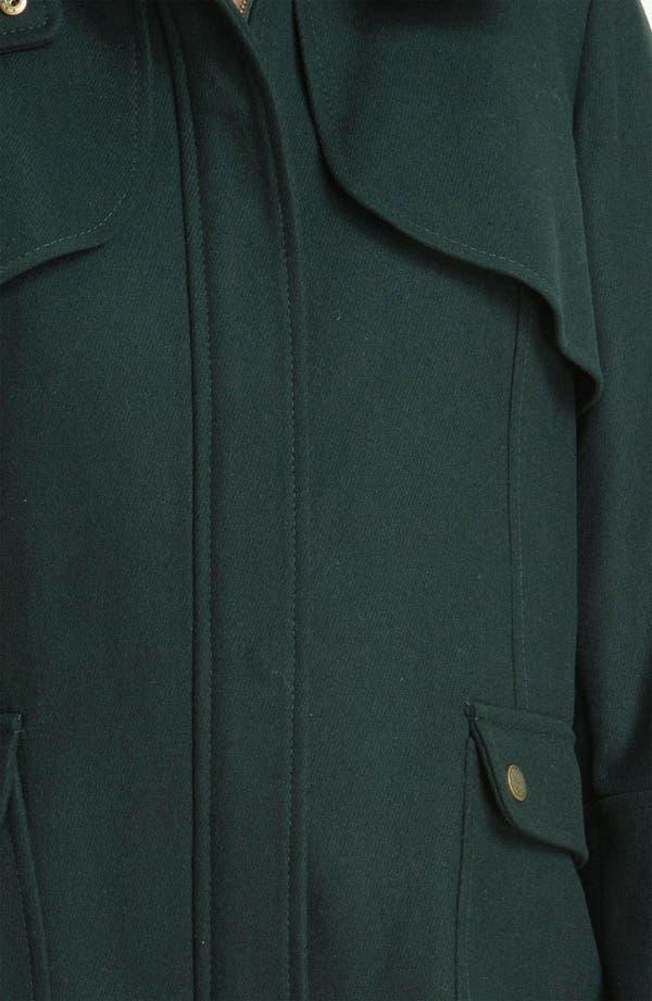 Alternate Image 3  - Vince Camuto Wool Blend Jacket with Detachable Hood (Plus)