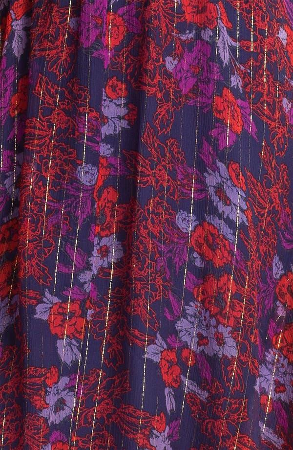Alternate Image 3  - Ella Moss 'Rosemary' High/Low Print Dress