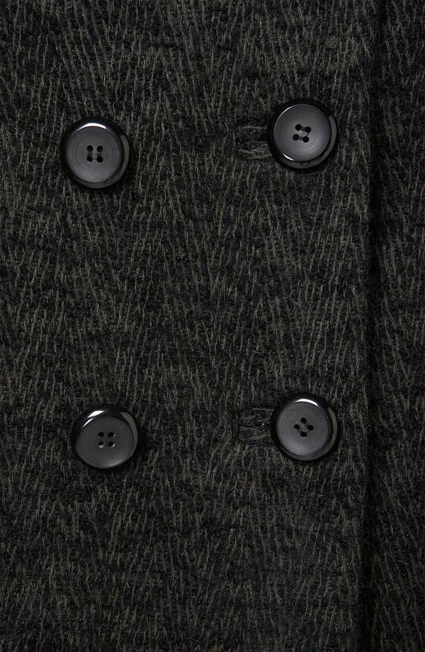 Alternate Image 3  - Topshop 'Prem Longline Mensy' Boyfriend Coat