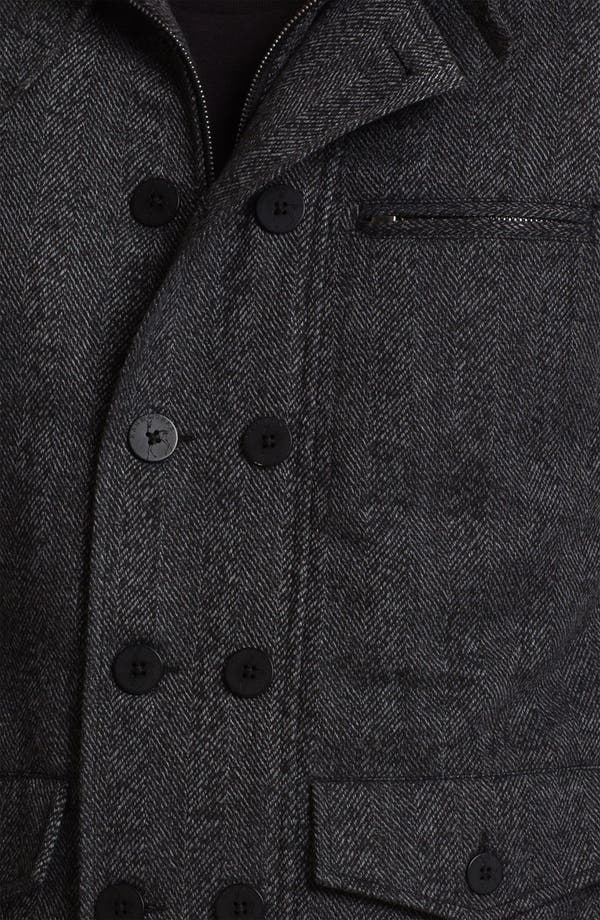 Alternate Image 3  - Kane & Unke Herringbone Jacket