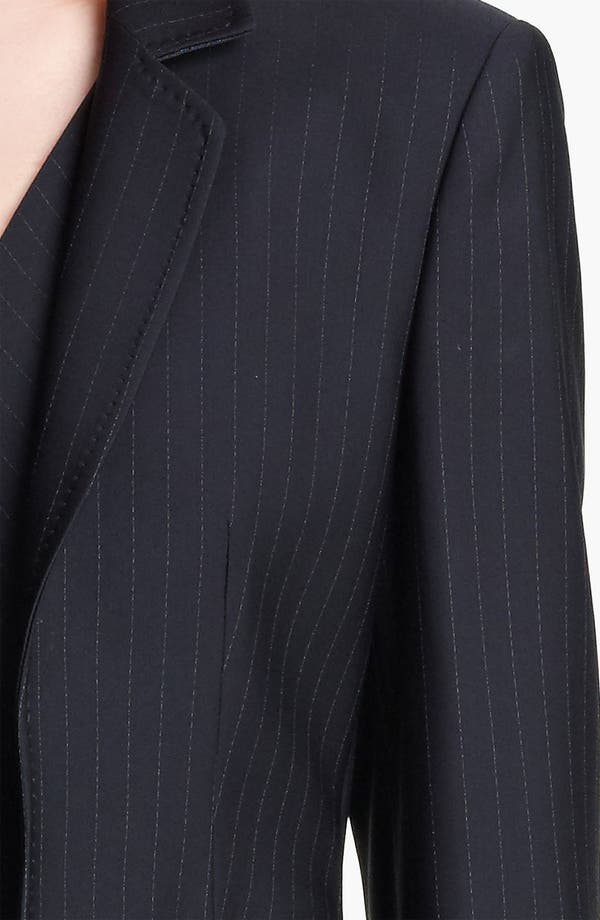 Alternate Image 3  - Armani Collezioni Pinstripe Jacket with Attached Vest