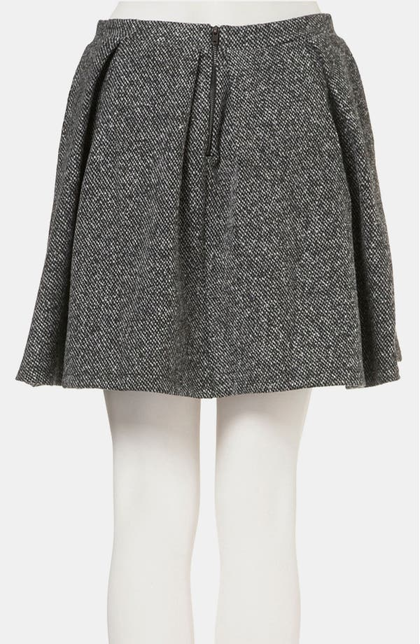 Alternate Image 2  - Topshop Tweed Skater Skirt