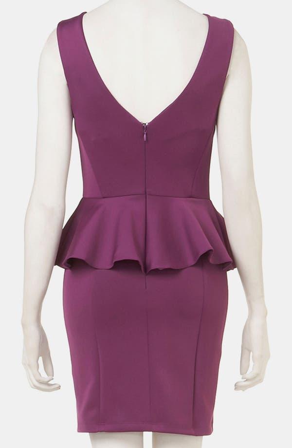 Alternate Image 2  - Topshop Peplum Dress