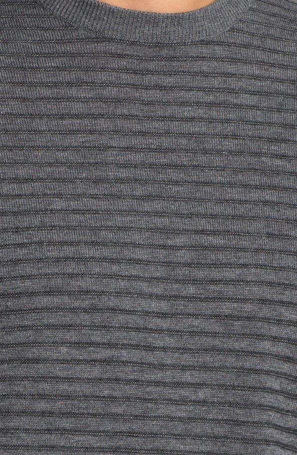 Alternate Image 3  - Toscano Merino Wool Blend Crewneck Sweater