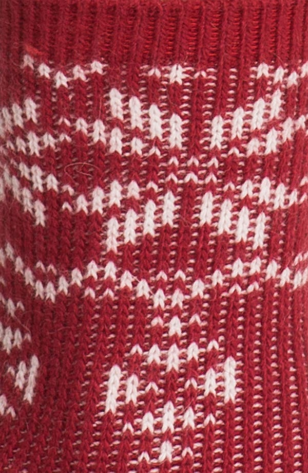 Alternate Image 2  - Ralph Lauren Fair Isle Snowflake Crew Socks