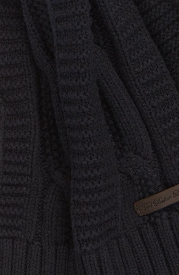 Alternate Image 2  - Ted Baker London Cable Knit Scarf