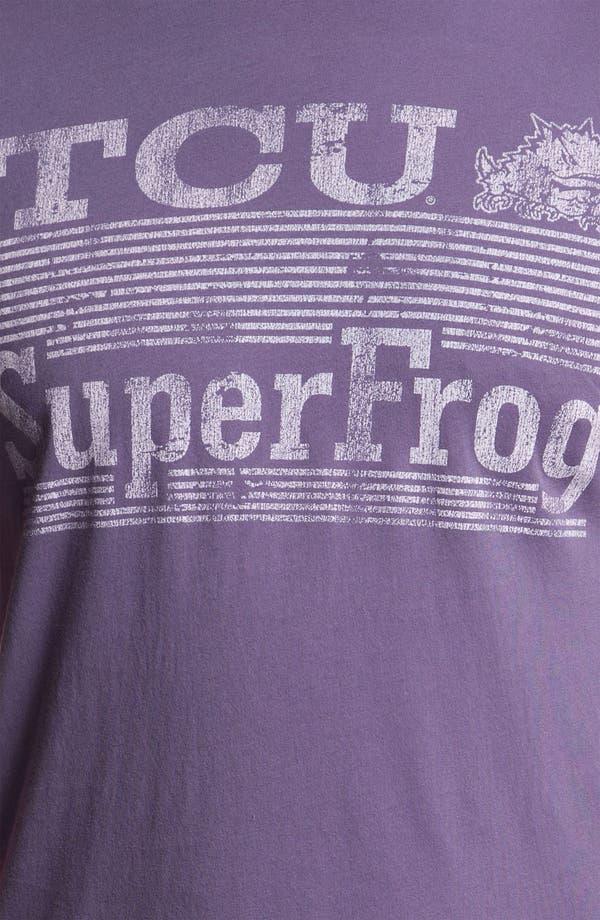 Alternate Image 3  - The Original Retro Brand 'TCU Horned Frogs - Superfrog' T-Shirt