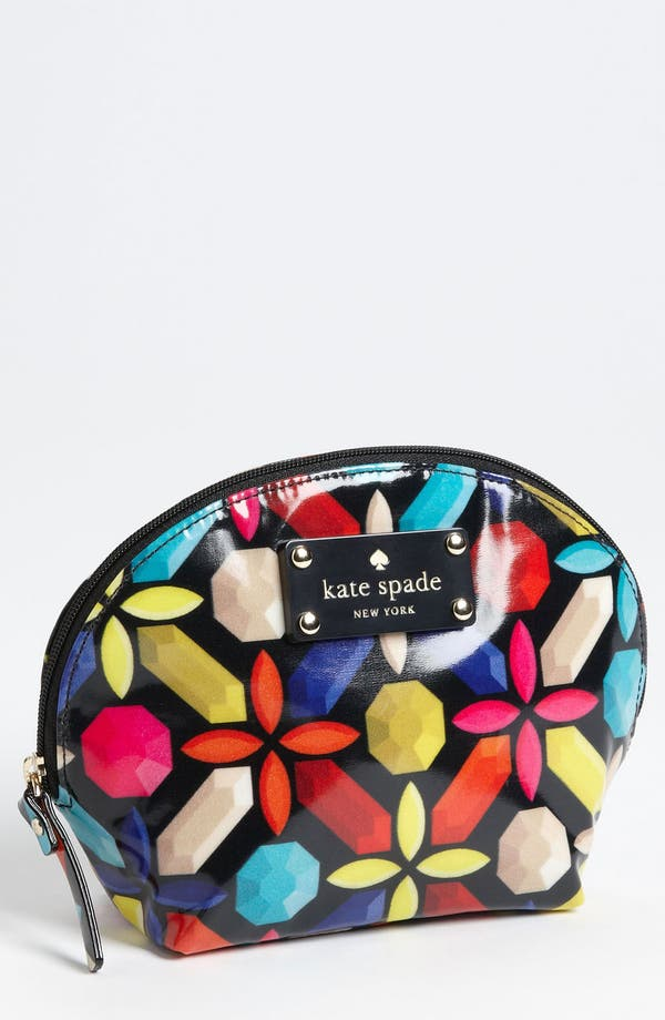 Main Image - kate spade new york 'daycation - keri' cosmetics case