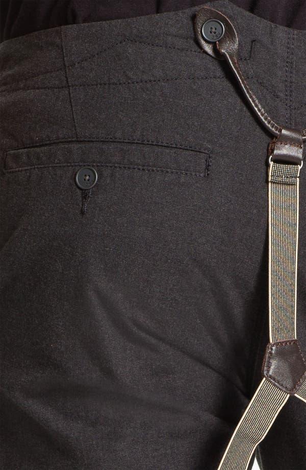 Alternate Image 3  - John Varvatos Star USA Slim Leg Trousers with Suspenders