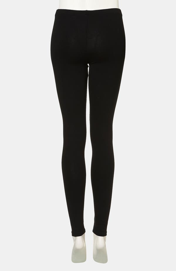 Alternate Image 2  - Topshop 'Skeleton' Leggings