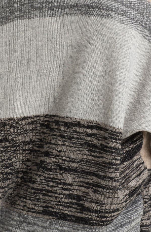 Alternate Image 3  - Nordstrom Collection Intarsia Cashmere Cardigan