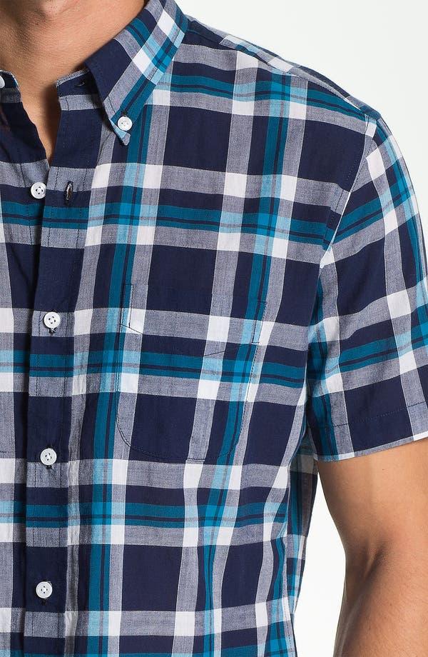 Alternate Image 3  - Vince Plaid Woven Shirt