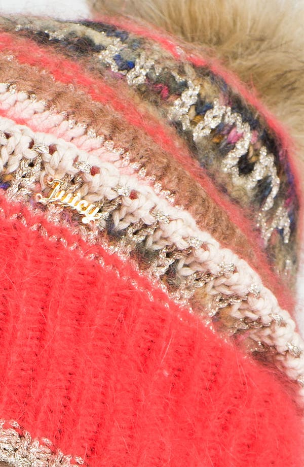 Alternate Image 2  - Juicy Couture Slouchy Beanie