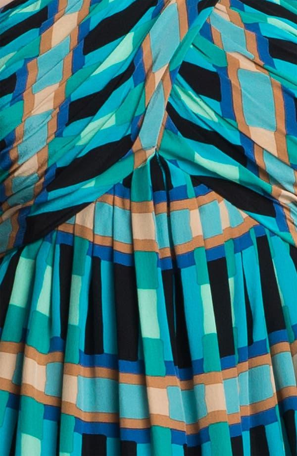 Alternate Image 3  - Tracy Reese 'Bright Blocks' Silk Halter Dress