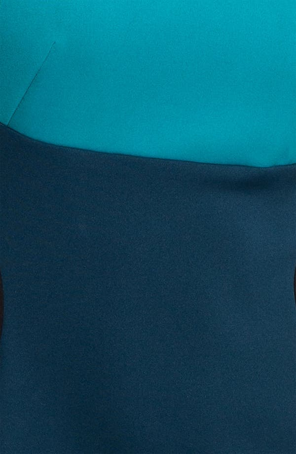 Alternate Image 3  - Maggy London Colorblock Scuba Sheath Dress