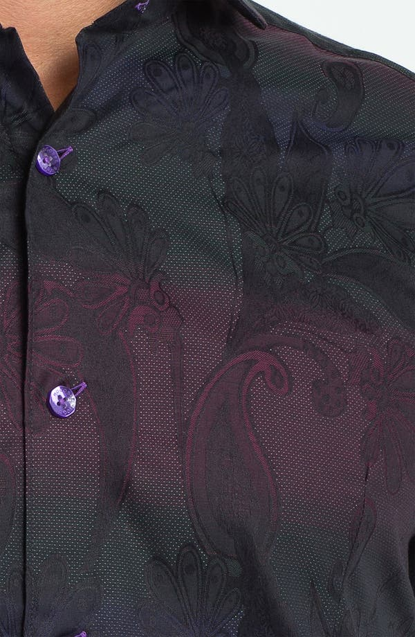 Alternate Image 3  - Bogosse 'Kaz 89' Trim Fit Sport Shirt