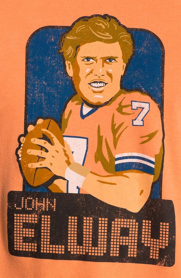 Alternate Image 3  - Red Jacket 'Hyperbole - John Elway' T-Shirt