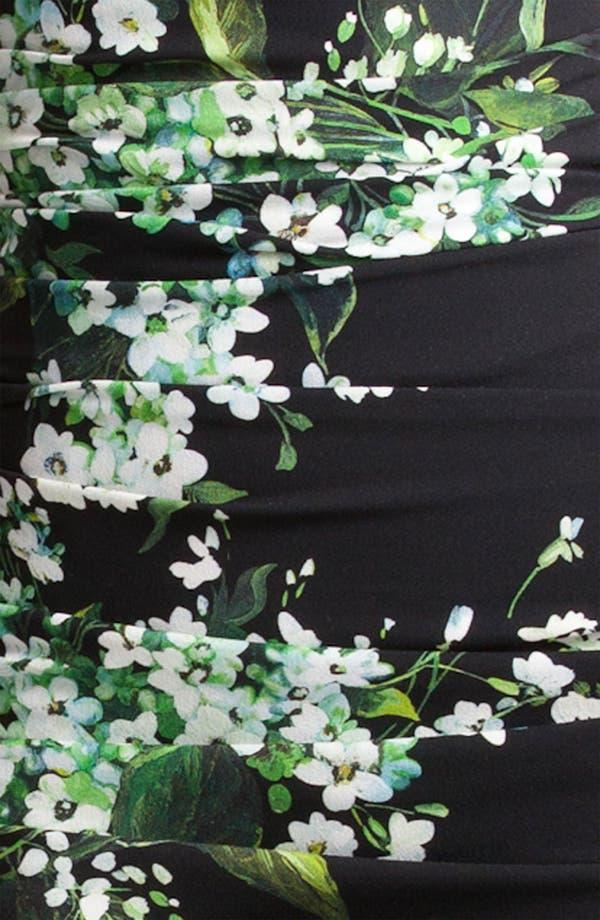 Alternate Image 3  - Dolce&Gabbana Lily Print Stretch Cady Dress