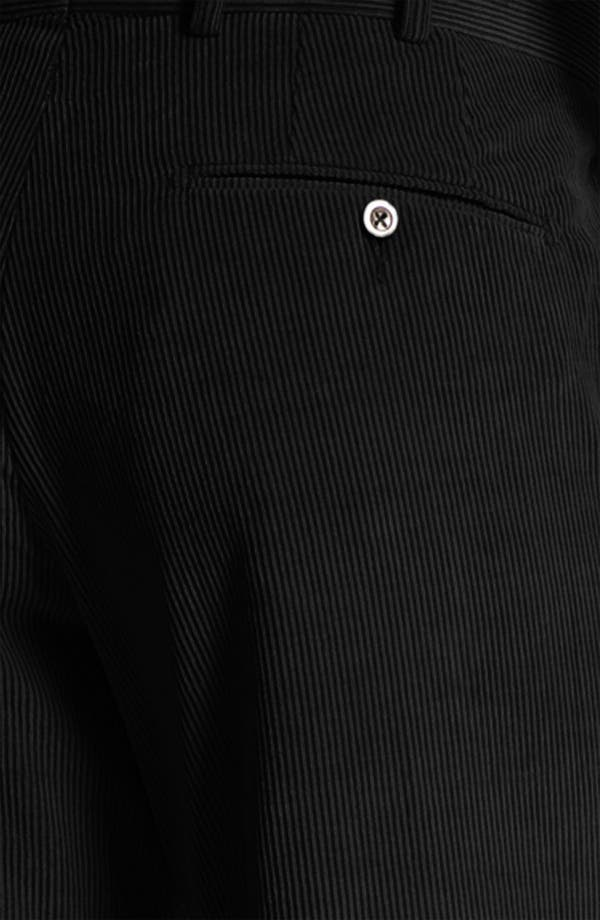 Alternate Image 3  - JB Britches Flat Front Corduroy Trousers