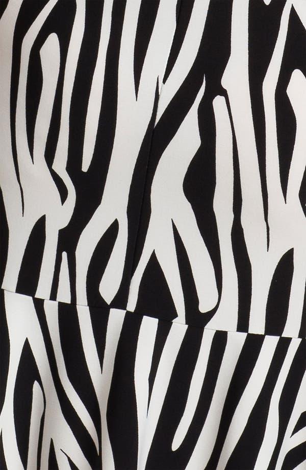 Alternate Image 3  - Donna Morgan Print Cap-Sleeve Drop Waist Dress