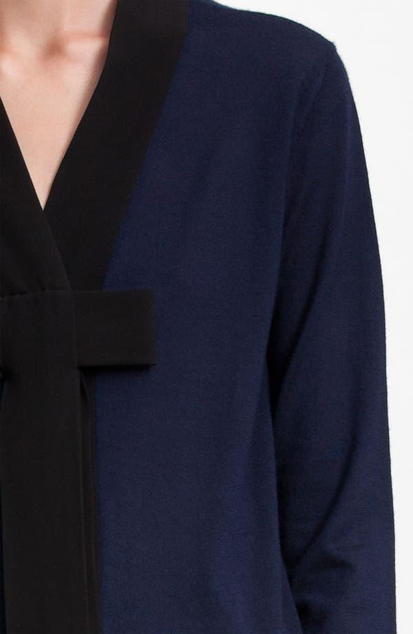 Alternate Image 5  - Marni Bicolor Bow Cashmere Cardigan