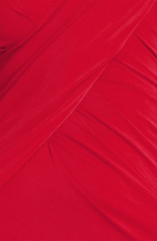 Alternate Image 3  - Donna Karan Collection Cap Sleeve Jersey Gown