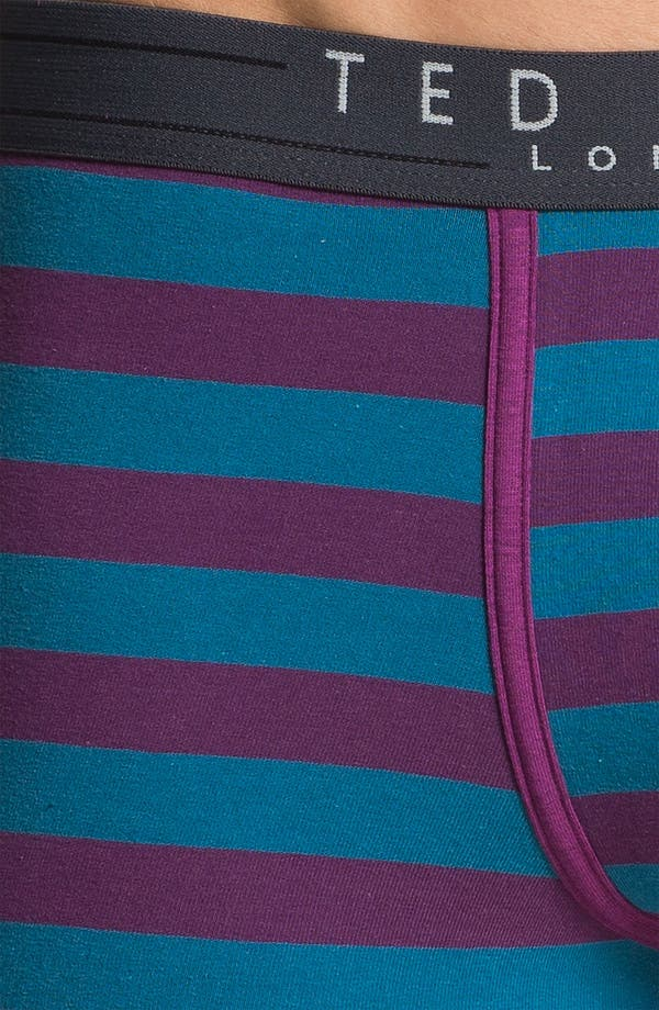 Alternate Image 3  - Ted Baker London Bold Stripe Trunks