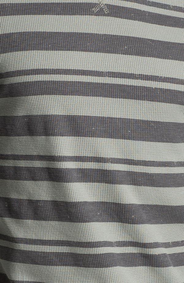 Alternate Image 3  - Volcom Stripe Crewneck Thermal Shirt